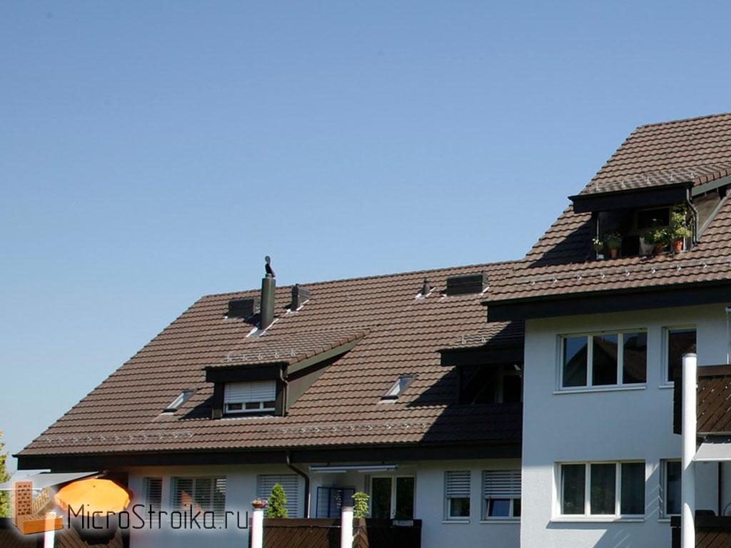 Крыша скатная